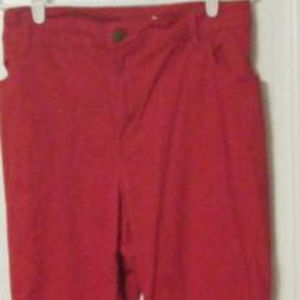 Red Stretch Pants/Jeans 26W